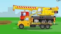 Der Gelbe Bagger und Der Lastwagen Die große Autos für Kinder Cartoon für Kinder