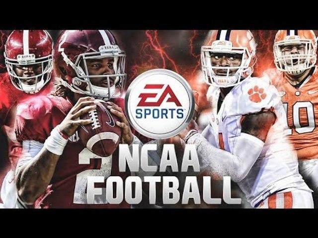 2017 College Football National Championship | EA Sports NCAA Football Simulation
