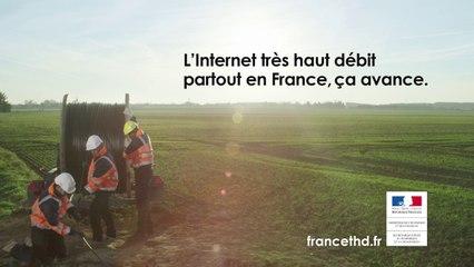 L'Internet très haut débit partout en France, ça avance.