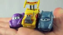 Micro Drifters Funny Car Mater and Flo new new 3 packs of Disney Cars Micro Drifters Mini