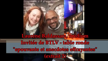 Laurène Baldassara, medium - invitée sur BTLV (janvier 2017 - extrait 2)