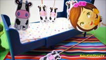Jumping On The Bed _ Five Little Cow Jumping Nurs