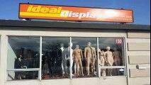 Retail Store Fixtures, Floor Racks, Mannequins, Hangers and More