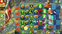 Plants vs. Zombies 2: Its About Time Far Future Gameplay Part 12 Magnifying Grass Plant