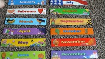 Months of the Year   Months for Kids   Month Name   Learning Games   Kid's Learning   Month