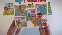 Fun Sesame street puzzle for kids   learning for toddlers and pre school kids   Bert Ernie cookie mo