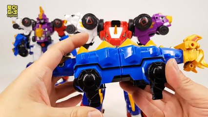 AR DinoCore! Ultra deverster Tyranno Shabel Stego Core Transformer Toy video