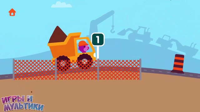 строительные машинки sago mini найди в мультике АМ НЯМ cute the rope загадка от коа тома
