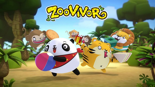 เพลงเด็ก - One, two, three, four, five | Zoovivor cartoon animation