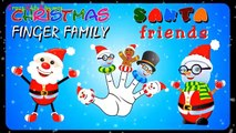 Santa Claus - Christmas Songs for Children | Santa Claus Cartoon Finger Family Rhymes for Kids