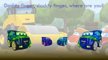 The Adventures of Chuck  Friends Finger Family Song Daddy Finger Nursery Rhymes