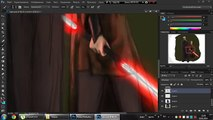 Speed painting- Bane and Zannah (Star Wars) by Photoshop
