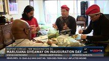 Activists plan marijuana giveaway on Inauguration Day