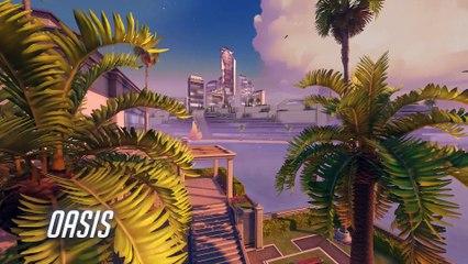 Preview de la carte Oasis de Overwatch