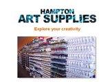 High Quality Art Supplies Products at Hampton Art Supplies