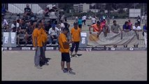 International à pétanque de la Ville d'Ajaccio juillet 2016 : Quart GAUBERT vs RAYNE