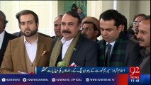 Panama Leaks case - PMLN leaders Full media talk