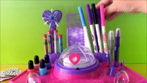 Cra-Z-Art Shimmer n Sparkle Designer Nail & Tattoo Studio! DIY Glittery Tattoos Design Pretty Nails