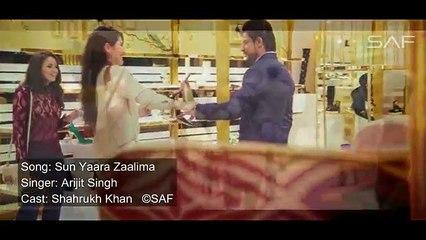 Sun Yaara O Zaalima Full Song - RAEES -VIDEO SONG - Shah Rukh Khan, Mahira Khan
