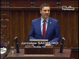 Poseł Jarosław Sachajko - Wystąpienie z dnia 16 grudnia 2016 roku.