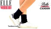 Tuto | Bien dans ses chaussettes, bien dans ses baskets ! | Belle Comme Un Camion avec Emilie Albertini | Sur ELLE Girl