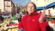 Hautes-Alpes : Ambiance plutôt calme sur le marché de la République à Gap