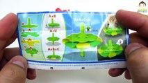 4 Kinder Joy Surprise Eggs For Boys - Magic Kinder Batman Bracelet Spinner Colors Brush Toys