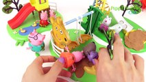 Peppa Pigs Outdoor Fun Slide & Swing Play with Toys
