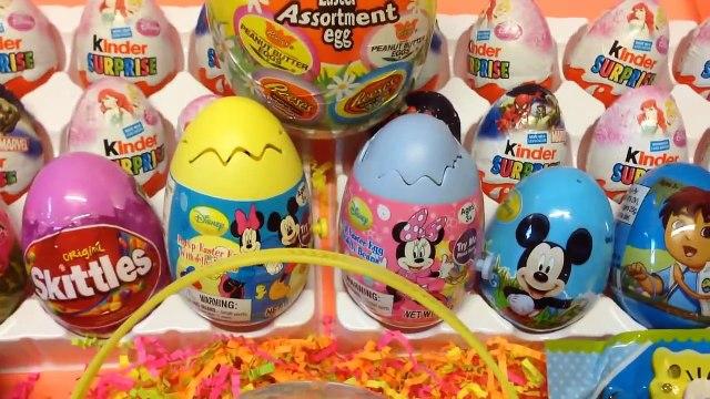 Disney Frozen Surprise Eggs Disney Princess Surprise Eggs Disney Pixar Cars Surprise Easter Eggs