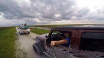 Gator hunting First time GoPro selfie and FAIL