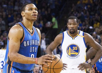 Kevin Durant Throws Subtle SHADE at MVP Candidate Russell Westbrook Over Triple Doubles?