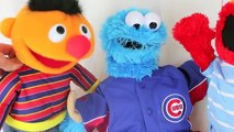 Cookie Monster New Clothes With Sesame Street Elmo, Ernie and Cookie Monster Dress Toys YouOrvKeqTc