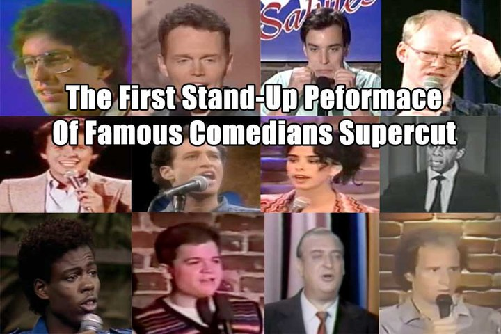 The First Stand-Up Performance of Famous Comedians Supercut