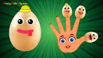 Egg FINGER FAMILY Nursery Rhyme Kids Animation Rhymes Finger Family Song Children's Songs[1]