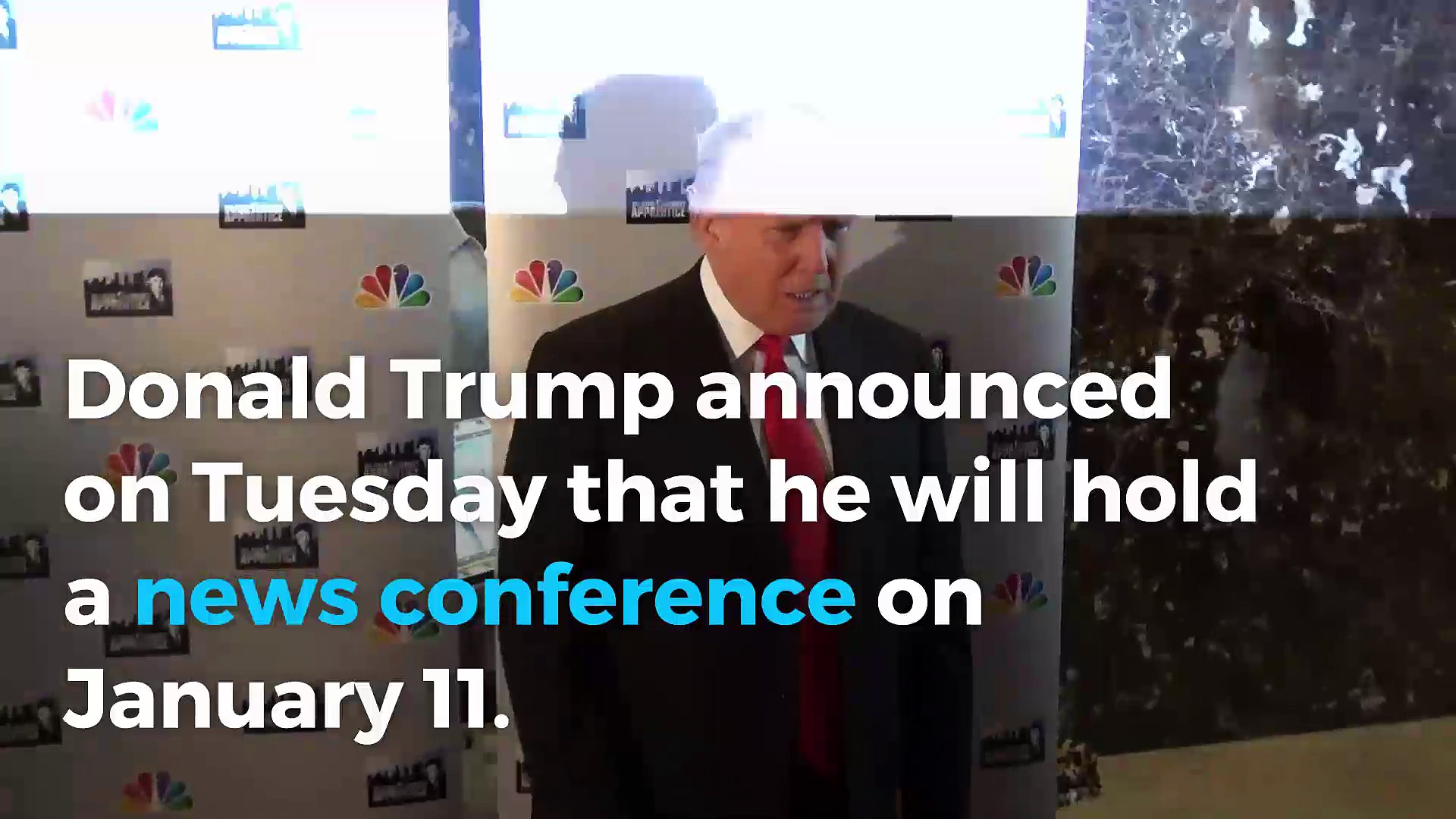 Donald Trump will hold first news conference since July