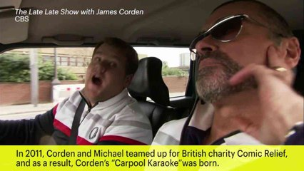 Corden Pays Tribute to George Michael