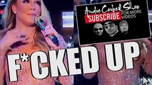MARIAH CAREY MESSES UP NEW YEARS EVE PERFORMANCE. MARIAH CAREY NYE 2017 EMOTIONS PERFORMANCE PARODY