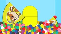 NEW! Paw Patrol Ball Pit | Chase Rubble Skye Surprise Eggs With Color Balls For Kids #Animation
