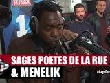 Sages Poètes de la rue et Ménélik en freestyle dans Planète Rap