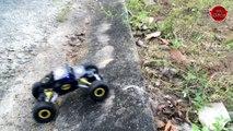 Lightning McQueen Race Spiderman Batman Monster Truck Superheroes Fun Cars Carto