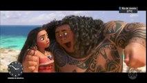 Jornal do SBT revela os bastidores da animação `Moana`