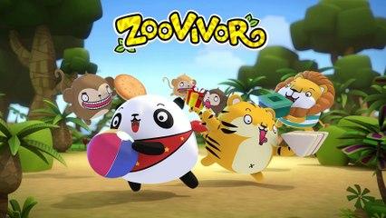 คริสต์มาส เพลงเด็ก - จิงเกอเบล Jingle bells | Zoovivor cartoon animation