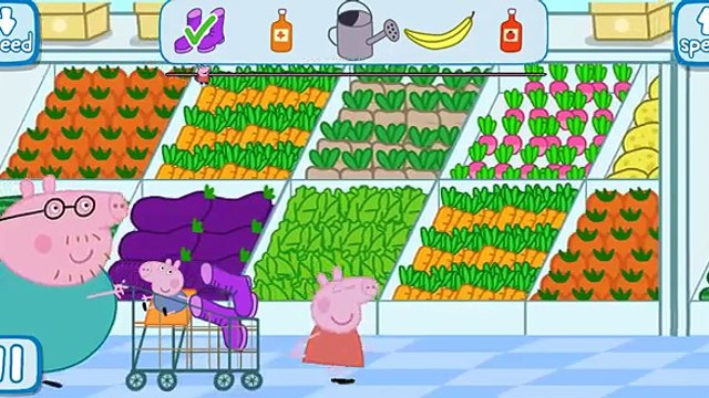 Peppa Pig Shopping | Full Version Game play | Best iPad app demo for kids