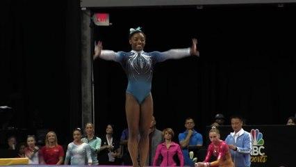 Simone Biles - Floor Exercise - 2016 P&G Gymnastics Championships – Sr. Women Day 2