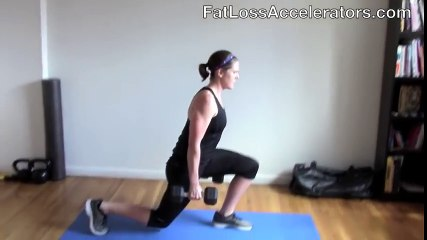 World s BEST Fat Burning Workout (using just a pair dumbbells)