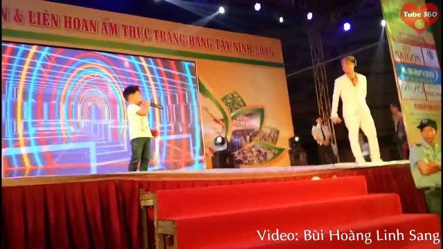 Bé trai 4 tuổi khiến Lâm Chấn Khang phải bái phục với phong cách biểu diễn