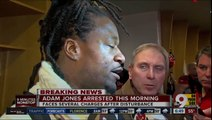 """Cincinnati Bengals Player Adam """"Pacman"""" Jones Arrested & Charged With Assault! (Accused Of Head-butting A Cop & Spitting On A Nurse)"""