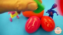 Kinder Surprise Egg Learn A Word! Lesson B Teaching Spelling & Letters Unwrapping Eggs & Toys
