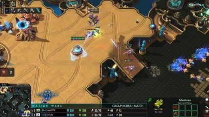 Quand ByuN joue avec le Brésil - StarCraft II