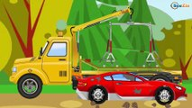 The Yellow Tow Truck in action with Car FRIEND | World of Cars | Cars & Trucks for Kids